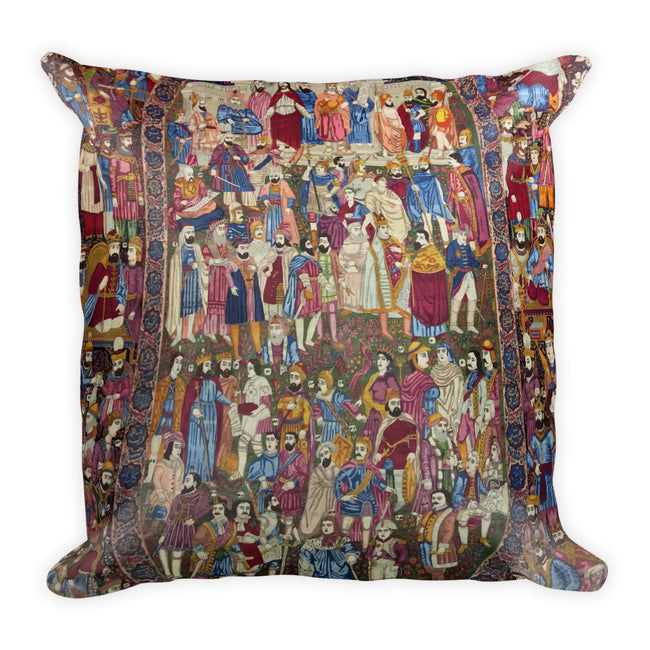 Isfahan Square Pillow - KaliKut apparel