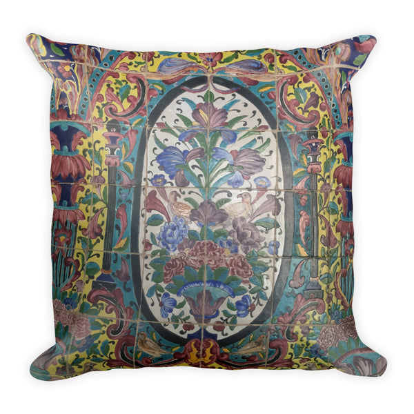 Abadeh Square Pillow - KaliKut apparel