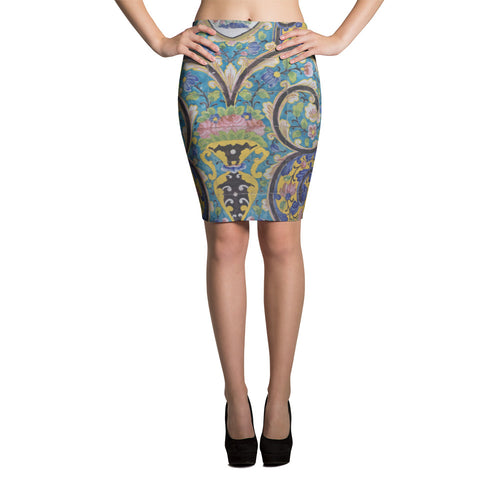 Avar Pencil Skirt - KaliKut apparel