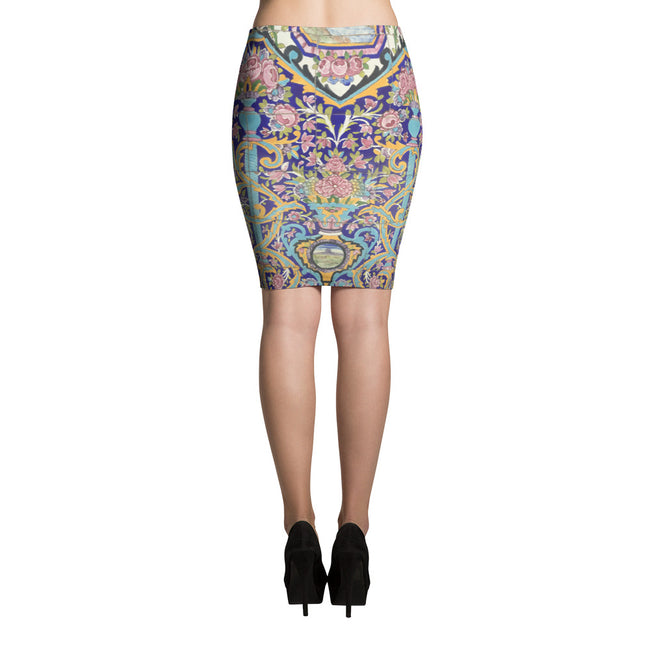 Balkan Pencil Skirt - KaliKut apparel