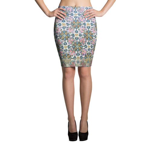 Alcaraz Pencil Skirt - KaliKut apparel