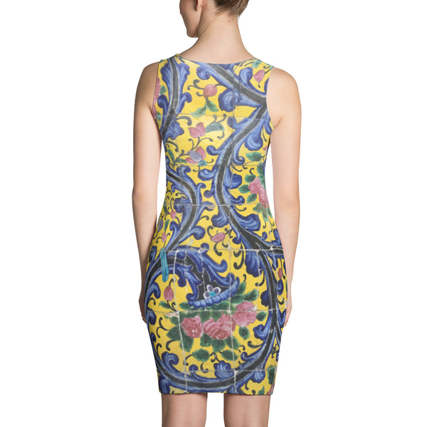 Agra Sublimation Cut & Sew Dress - KaliKut apparel