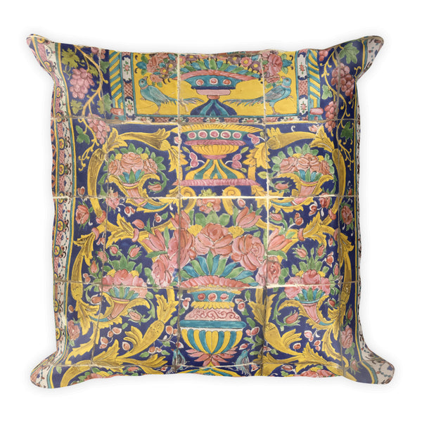 Bergama Square Pillow - KaliKut apparel