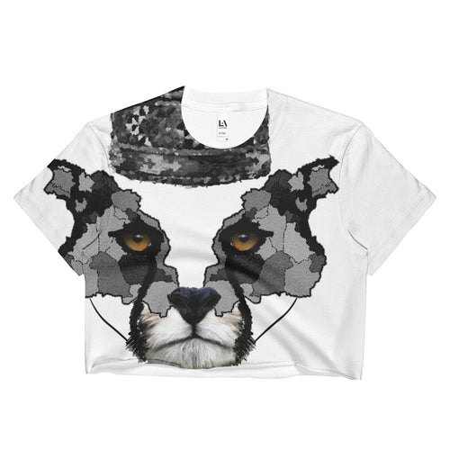 PERSIAN CHEETAH B SUBLIMATION CROP TOP - KaliKut apparel