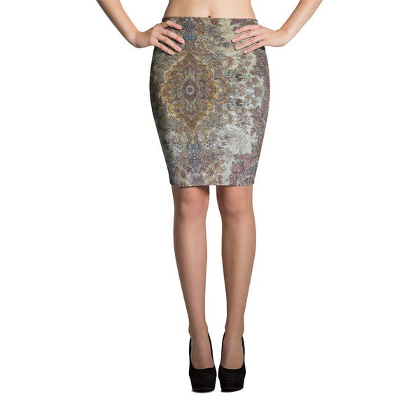 Dalmatic Pencil Skirt - KaliKut apparel