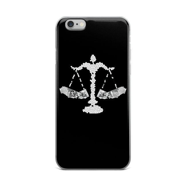 California Libra zodiac sign iPhone 5/5s/Se, 6/6s, 6/6s Plus Case - KaliKut apparel