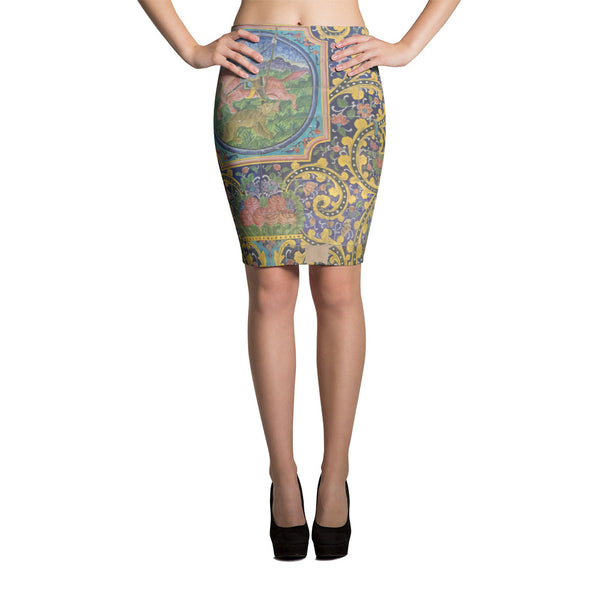 Amritsar Pencil Skirt - KaliKut apparel