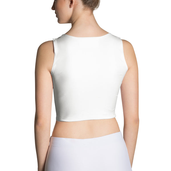 Aubusson Sublimation Cut & Sew Crop Top - KaliKut apparel