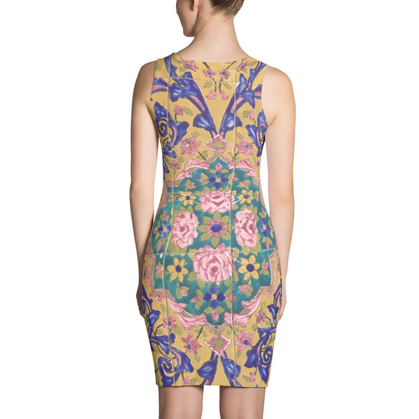 Chenille Sublimation Cut & Sew Dress - KaliKut apparel
