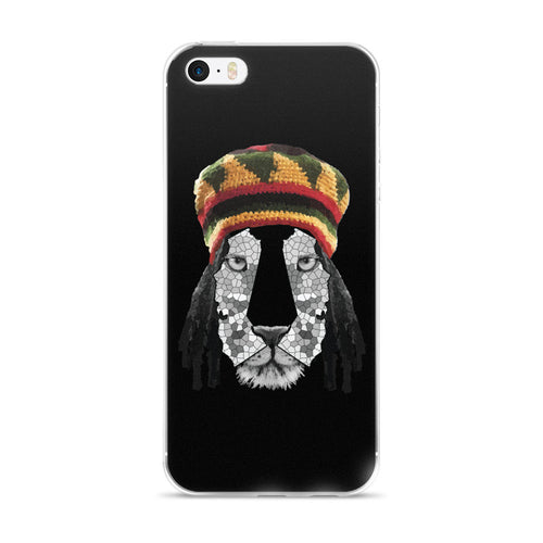 California Lion 2 iPhone 5/5s/Se, 6/6s, 6/6s Plus Case - KaliKut apparel