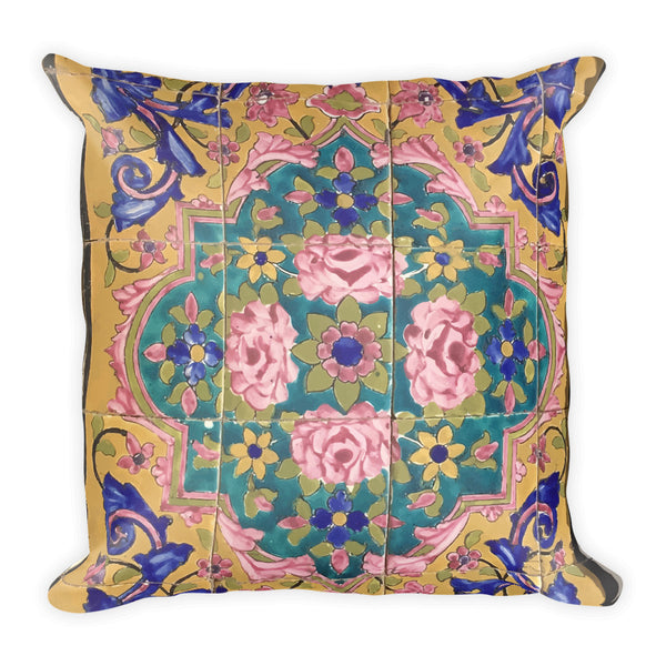 Chenille Square Pillow - KaliKut apparel