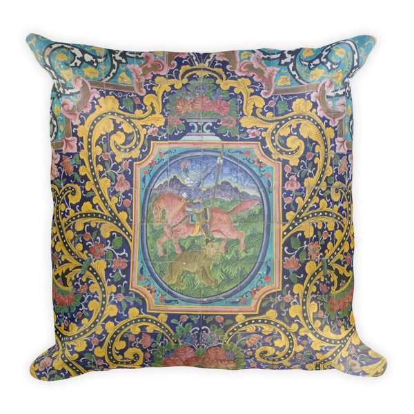 Amritsar Square Pillow - KaliKut apparel