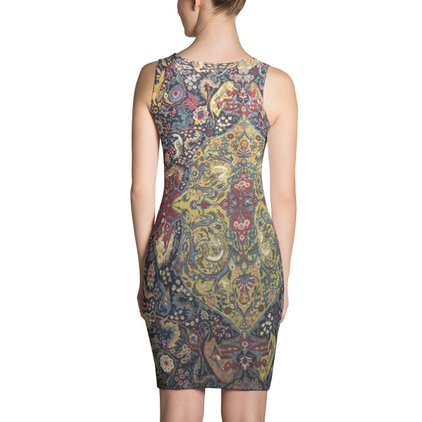 Kazak Sublimation Cut & Sew Dress - KaliKut apparel