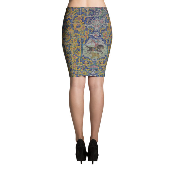 Bezalel Pencil Skirt - KaliKut apparel