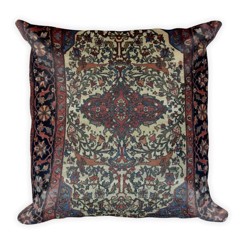 Heriz Square Pillow - KaliKut apparel
