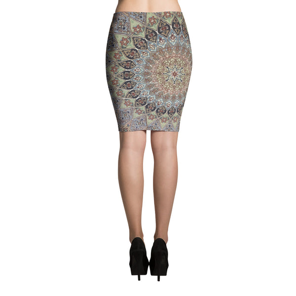 Donegal Pencil Skirt - KaliKut apparel