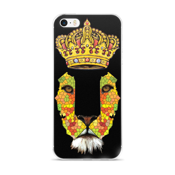 California Lion 3 iPhone 5/5s/Se, 6/6s, 6/6s Plus Case - KaliKut apparel