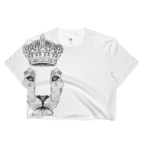 California Lion 4 Ladies Crop Top - KaliKut apparel