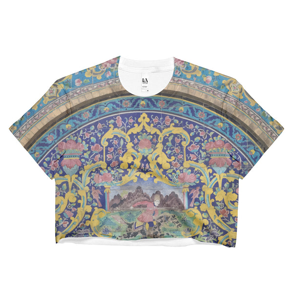 Azarbaijan Ladies Crop Top - KaliKut apparel