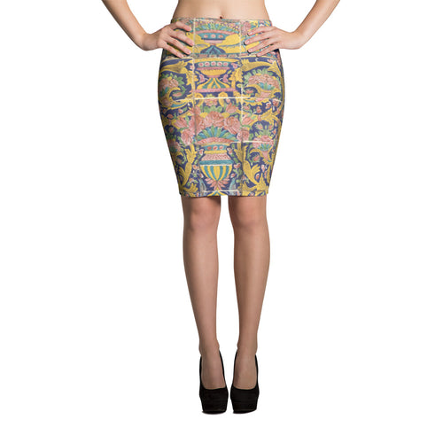 Bergama Pencil Skirt - KaliKut apparel