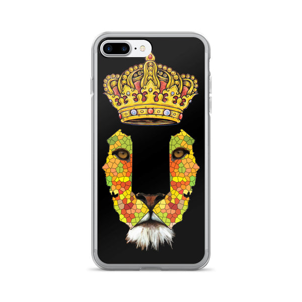California Lion 1 iPhone 7/7 Plus Case - KaliKut apparel