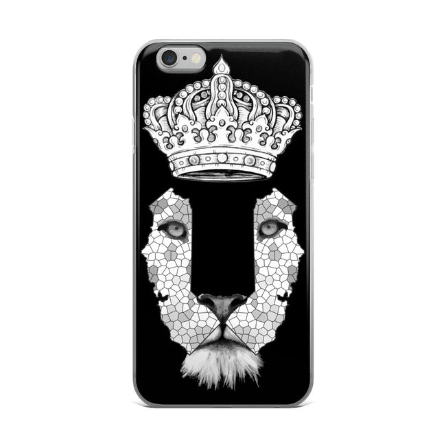 California Lion 4 iPhone 5/5s/Se, 6/6s, 6/6s Plus Case - KaliKut apparel