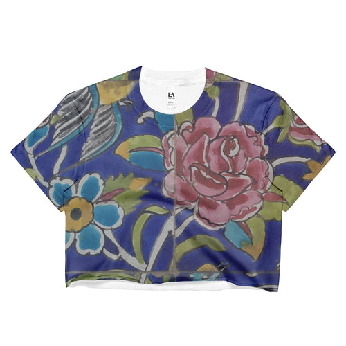 Farahan Ladies Crop Top - KaliKut apparel