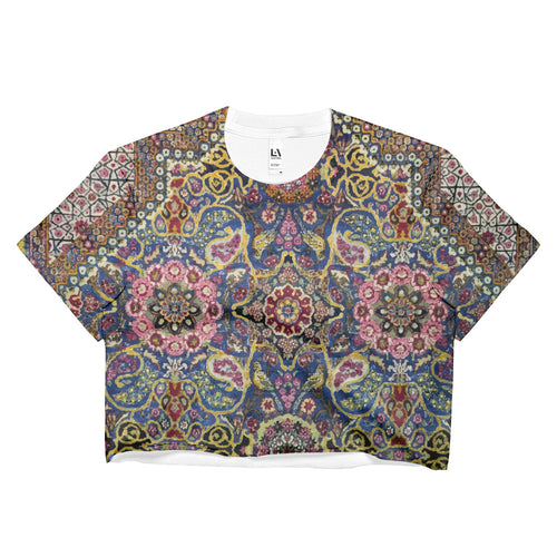 Hamedan Ladies Crop Top - KaliKut apparel