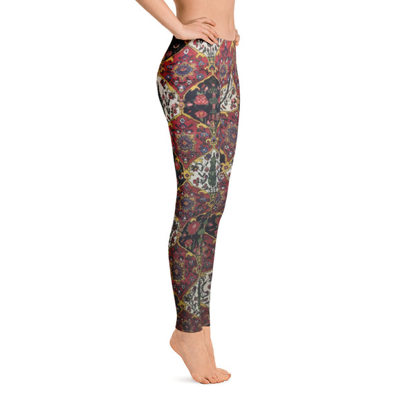 Kashan Leggings - KaliKut apparel