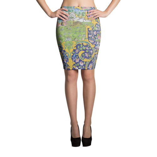 Alpujarrah Pencil Skirt - KaliKut apparel