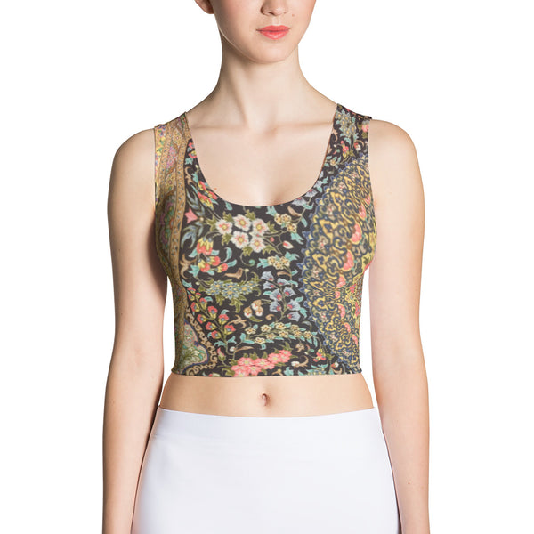 Lavar Sublimation Cut & Sew Crop Top - KaliKut apparel