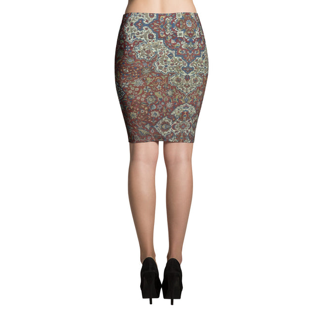 Hooked Pencil Skirt