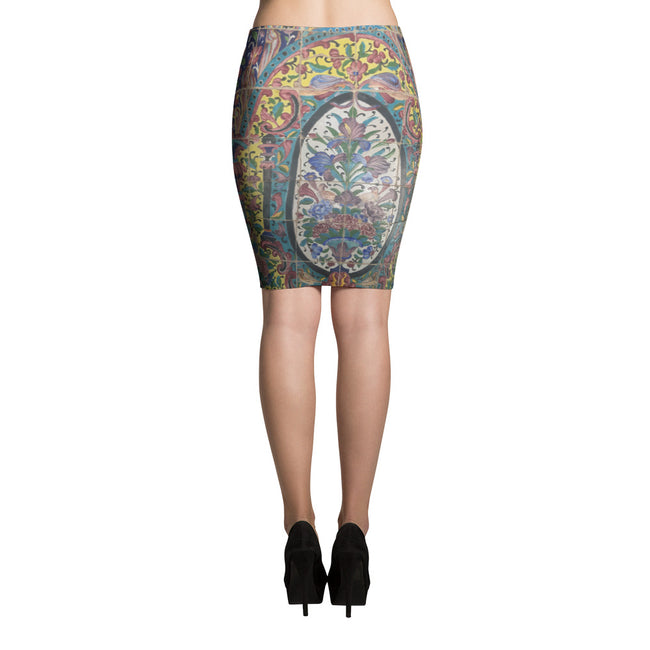 Abadeh Pencil Skirt - KaliKut apparel
