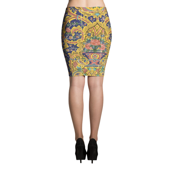 Baluch Pencil Skirt - KaliKut apparel