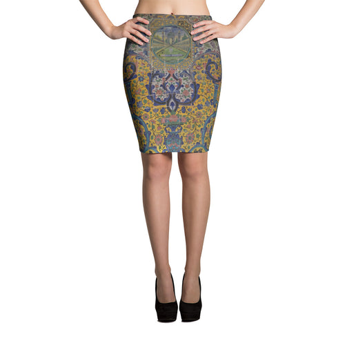 Bibikabad Pencil Skirt - KaliKut apparel