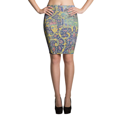 Azarbaijan Pencil Skirt - KaliKut apparel
