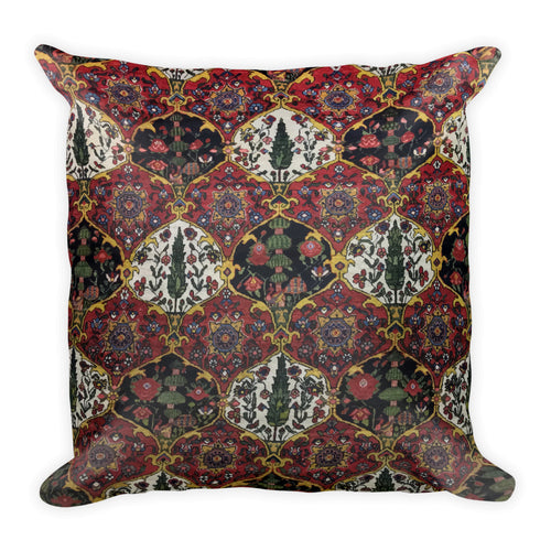 Kashan Square Pillow - KaliKut apparel