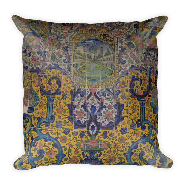 Bibikabad Square Pillow - KaliKut apparel