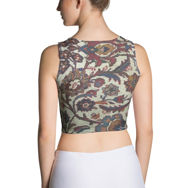 Gabbeh Sublimation Cut & Sew Crop Top - KaliKut apparel
