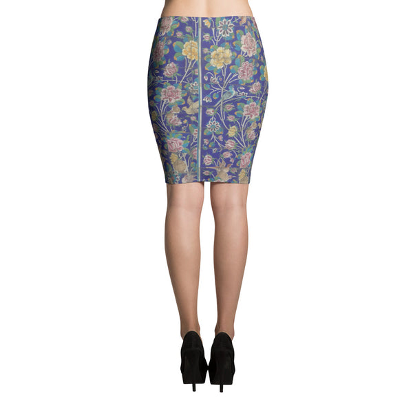 Karabag Pencil Skirt - KaliKut apparel