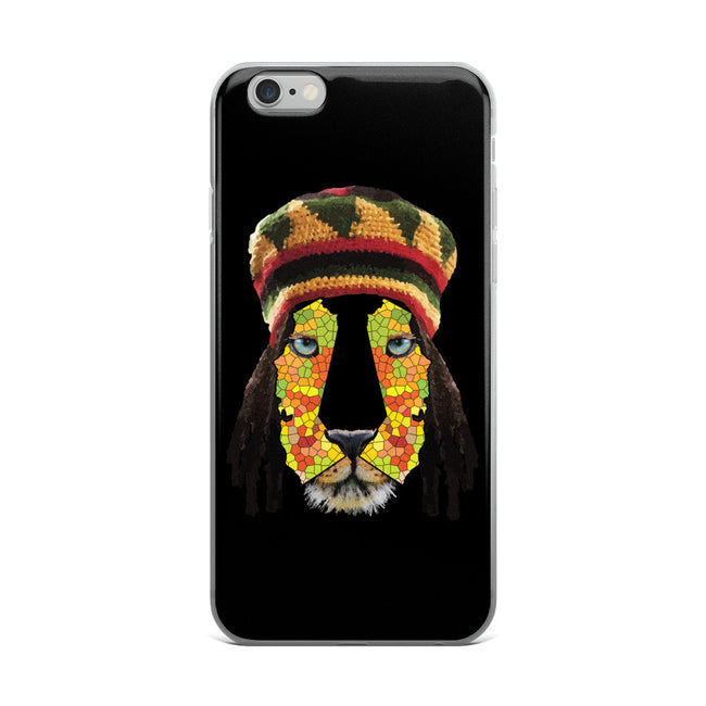California Lion 1 iPhone 5/5s/Se, 6/6s, 6/6s Plus Case - KaliKut apparel