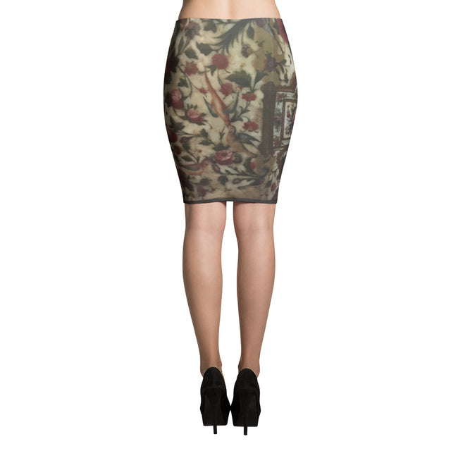Palace Pencil Skirt - KaliKut apparel