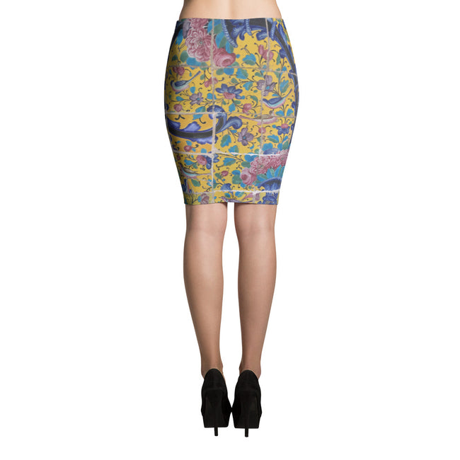 Afshar Pencil Skirt - KaliKut apparel