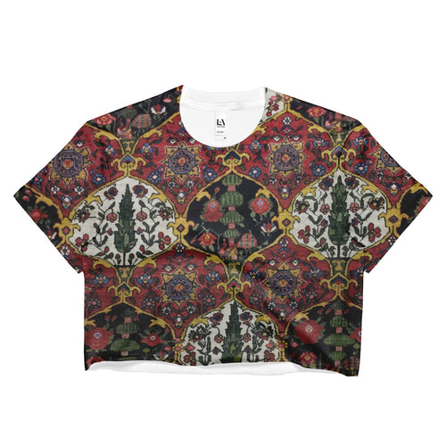 Kashan Ladies Crop Top - KaliKut apparel