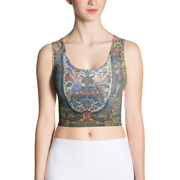 Abadeh Sublimation Cut & Sew Crop Top - KaliKut apparel