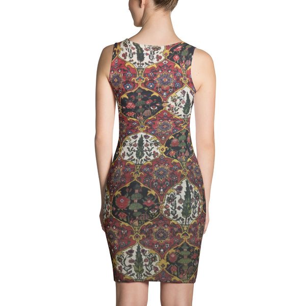 Kashan Sublimation Cut & Sew Dress - KaliKut apparel