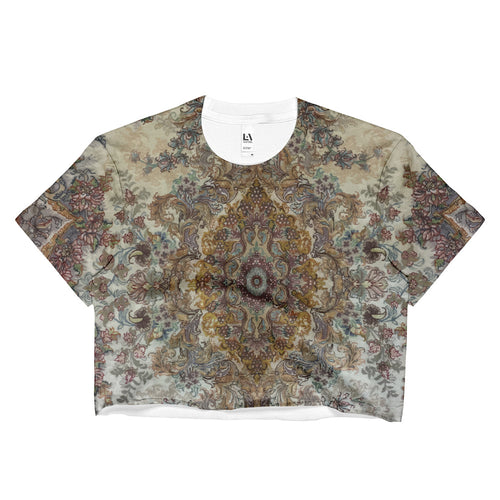 Dalmatic Ladies Crop Top - KaliKut apparel