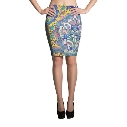 Bakhtiari Pencil Skirt - KaliKut apparel