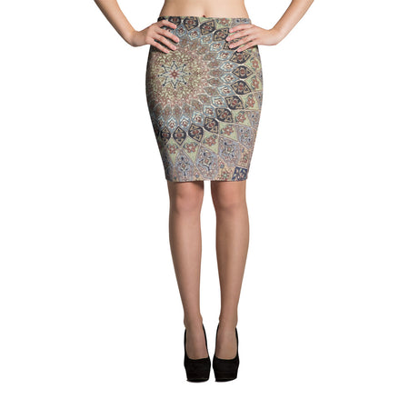 Karabag Pencil Skirt