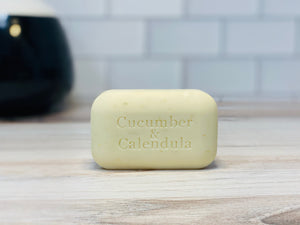 The Soap Works Cucumber and Calendula Soap